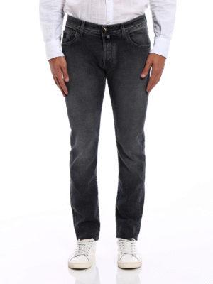 Jacob Cohen: straight leg jeans online - Style 622 coloured denim jeans