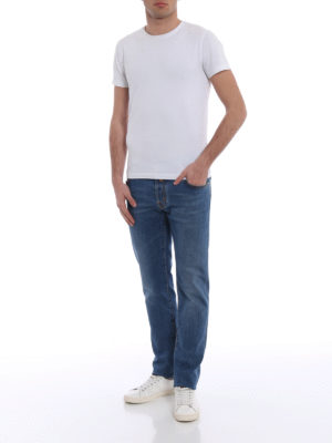 Jacob Cohen: straight leg jeans online - Style 622 comfort medium wash jeans