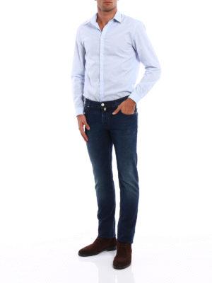 Jacob Cohen: straight leg jeans online - Style 622 five pocket jeans