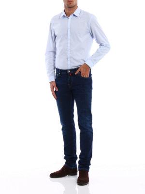 Jacob Cohen: straight leg jeans online - Style 622 rigid denim jeans