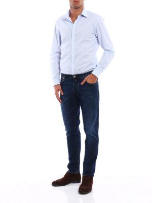 Jacob Cohen: straight leg jeans online - Style 656 comfort jeans