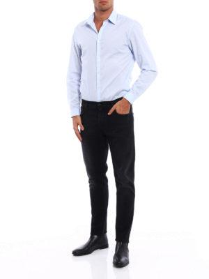 Jacob Cohen: straight leg jeans online - Style 656 dyed denim jeans