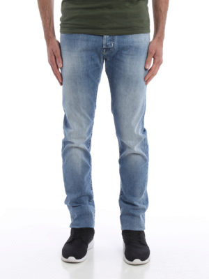 Jacob Cohen: straight leg jeans online - Tailored jeans