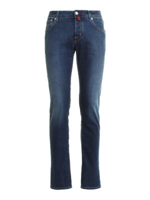 Jacob Cohen: straight leg jeans - PW622 denim jeans