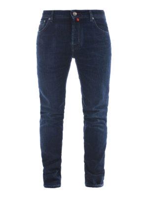 Jacob Cohen: straight leg jeans - Red label faded denim jeans
