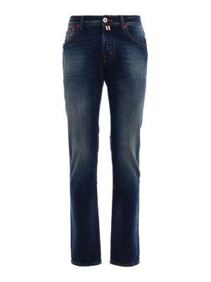 Jacob Cohen: straight leg jeans - Rising Sun jeans