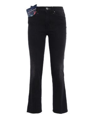 Jacob Cohen: straight leg jeans - Robin crop jeans
