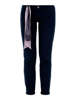 Jacob Cohen: straight leg jeans - Sophie crop jeans with handkerchief