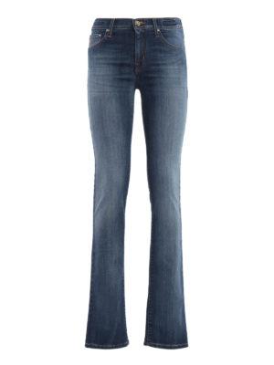 Jacob Cohen: straight leg jeans - Stone wash denim jeans