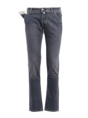 Jacob Cohen: straight leg jeans - Style 613 comf classic jeans