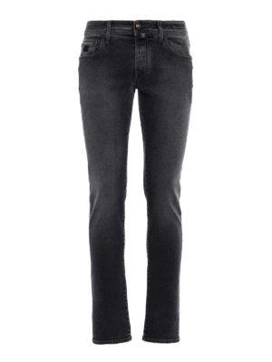 Jacob Cohen: straight leg jeans - Style 622 coloured denim jeans