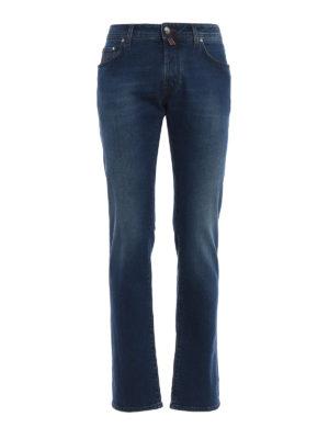 Jacob Cohen: straight leg jeans - Style 622 comfort jeans