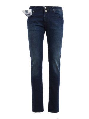 Jacob Cohen: straight leg jeans - Style 622 five pocket jeans