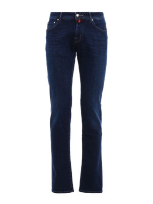 Jacob Cohen: straight leg jeans - Style 622 rigid denim jeans