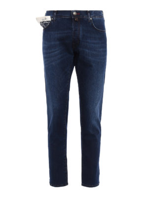 Jacob Cohen: straight leg jeans - Style 656 comfort jeans