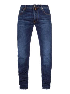 Jacob Cohen: straight leg jeans - Style 688 Comf blue cotton jeans