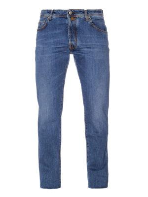 Jacob Cohen: straight leg jeans - Style 688 Comf light wash jeans