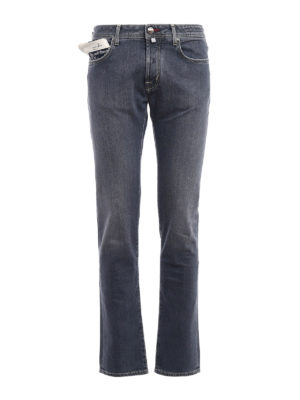 Jacob Cohen: straight leg jeans - Style 688 comf stretch cotton jeans