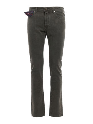 Jacob Cohen: straight leg jeans - Style 688 micro patterned jeans