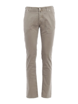 Jacob Cohen: straight leg jeans - Tailored jeans
