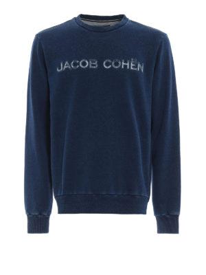 JACOB COHEN: Felpe e maglie - Sweatshirt con logo