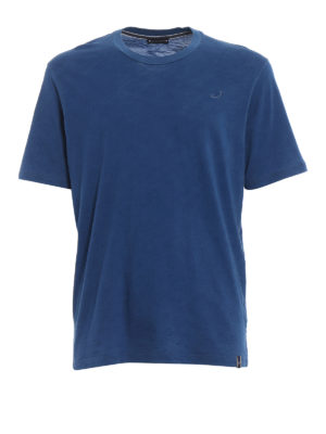 Jacob Cohen: t-shirts - Embroidered logo cotton T-shirt