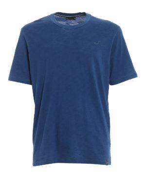 Jacob Cohen: t-shirts - Embroidered logo cotton T-shirt