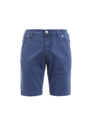 Jacob Cohen: Trousers Shorts - Cotton bermuda shorts