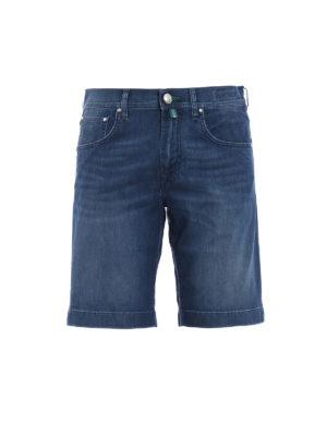 Jacob Cohen: Trousers Shorts - Faded soft cotton short trousers