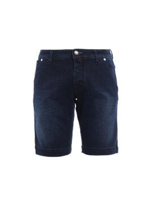 Jacob Cohen: Trousers Shorts - Flag denim short pants