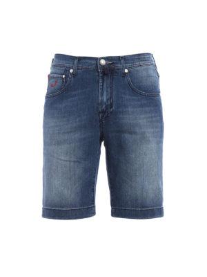 Jacob Cohen: Trousers Shorts - J663 cotton denim shorts