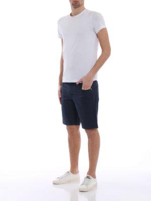 Jacob Cohen: Trousers Shorts online - Blue cotton short pants