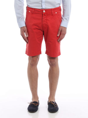 Jacob Cohen: Trousers Shorts online - Cotton bermuda shorts