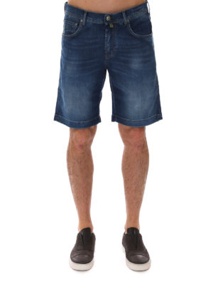 Jacob Cohen: Trousers Shorts online - Faded denim shorts
