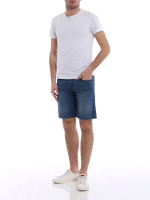 Jacob Cohen: Trousers Shorts online - Faded soft cotton short trousers