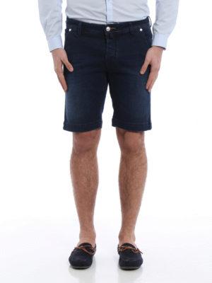 Jacob Cohen: Trousers Shorts online - Flag denim short pants
