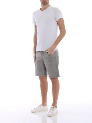 Jacob Cohen: Trousers Shorts online - Grey cotton short pants