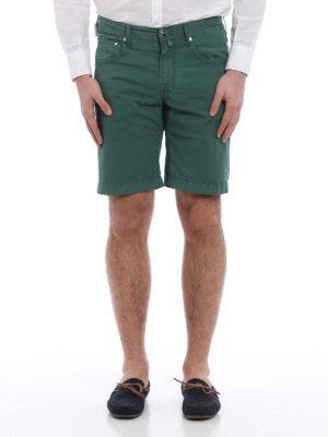 Jacob Cohen: Trousers Shorts online - J663 cotton shorts