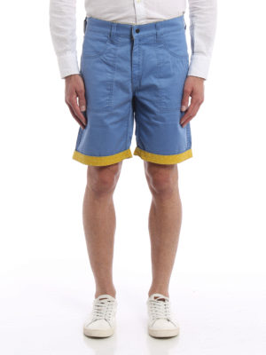 Jacob Cohen: Trousers Shorts online - Reversible bermuda shorts