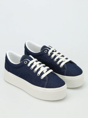 Jeffrey Campbell: trainers online - Wedge canvas sneakers