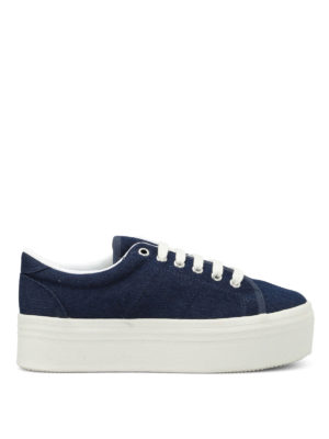 Jeffrey Campbell: trainers - Wedge canvas sneakers