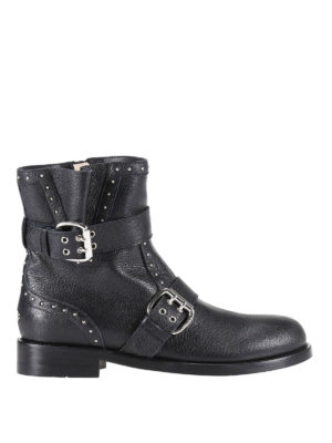 Jimmy Choo: ankle boots - Blyss biker ankle boots