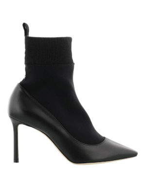 Jimmy Choo: ankle boots - Brandon 85 sock ankle boots