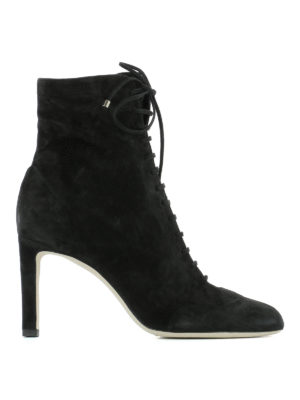 Jimmy Choo: ankle boots - Daize lace-up suede booties