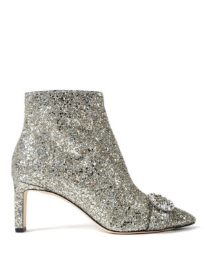 Jimmy Choo: ankle boots - Hanover 65 shadow glitter booties