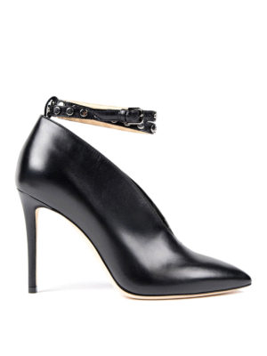 Jimmy Choo: ankle boots - Lark booties with strap