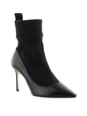 Jimmy Choo: ankle boots online - Brandon 85 sock ankle boots