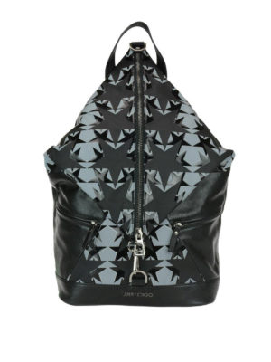 Jimmy Choo: backpacks - Fitzroy leather backpack with stars