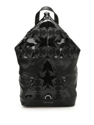 Jimmy Choo: backpacks - Fitzroy star patterned backpack