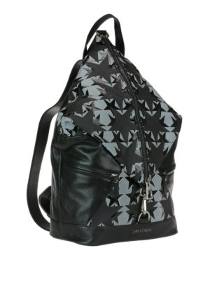 Jimmy Choo: backpacks online - Fitzroy leather backpack with stars